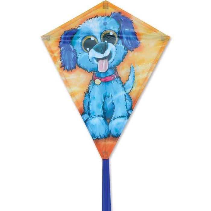 25 in. Diamond Kite - Happy Puppy
