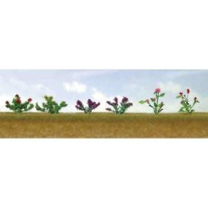 HO Flower Plants Assortment #1/12pk