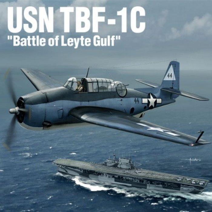 """1:48  TBF-1C """"Battle of Leyte Gulf"""" USN"""