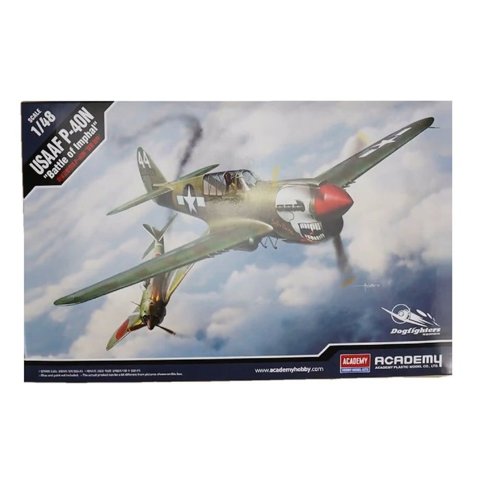 """1:48  P-40N USAAF """"Battle of Imphal"""" - Dogfighter Series"""