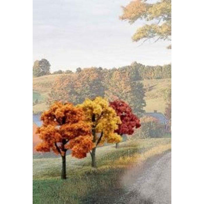 "Bulk Trees 3-5"" Fall Colors/14pc"""