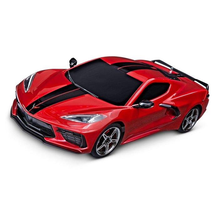 1/10 4 Tec 3.0 Corvette Red
