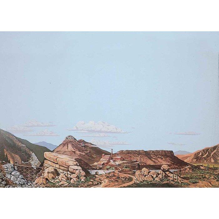 Scene Mountain to Desert