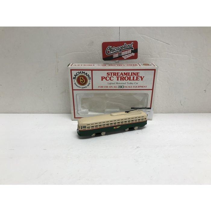 Bachmann 62945 HO Streamline PCC Trolley PTC