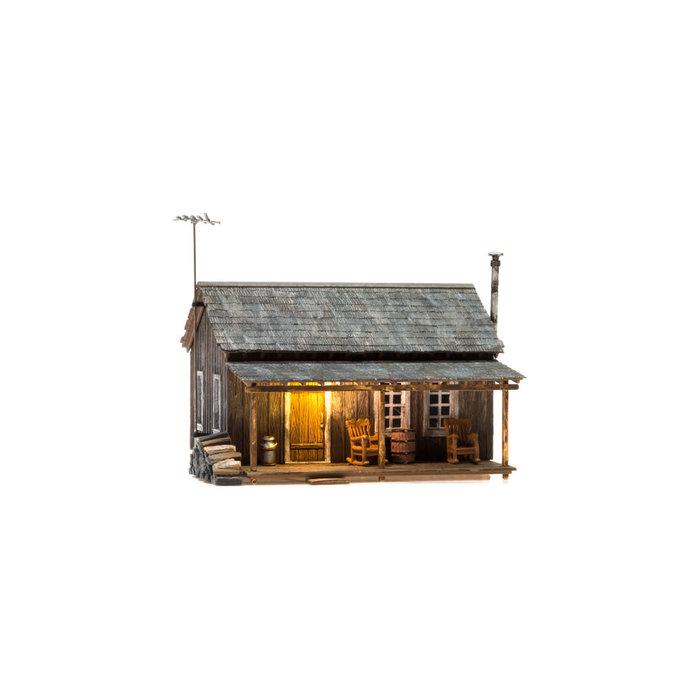 O B/U Rustic Cabin