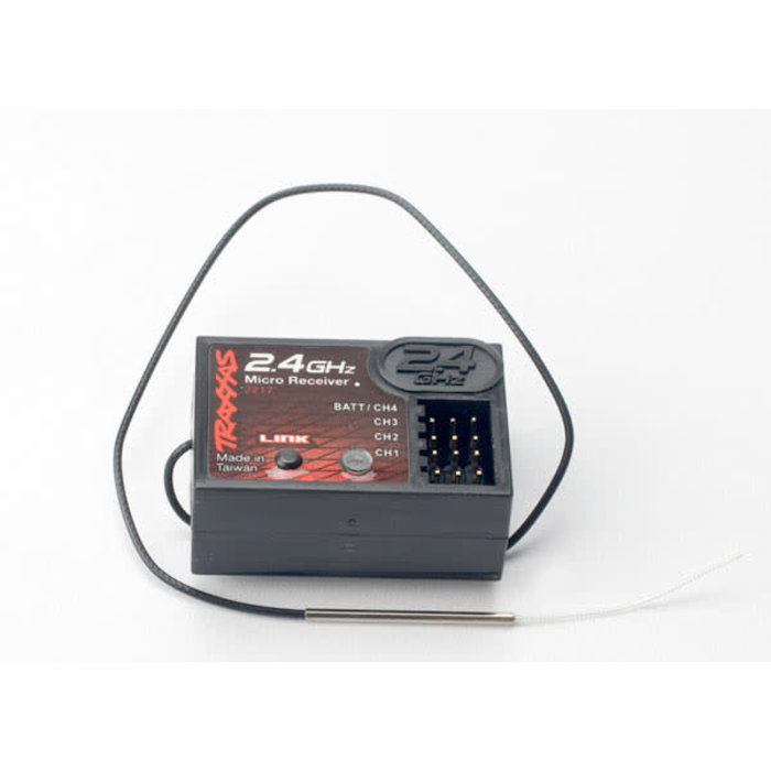 Receiver, micro 2.4 Ghz (4-channel)