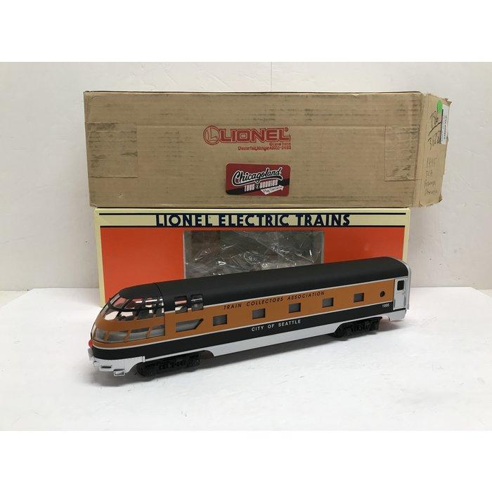 Lionel 6-52062 O Aluminum Skytop Obs. TCA 1995