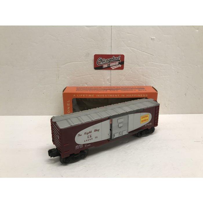 Lionel O 6464 Boxcar CofG w/ Box