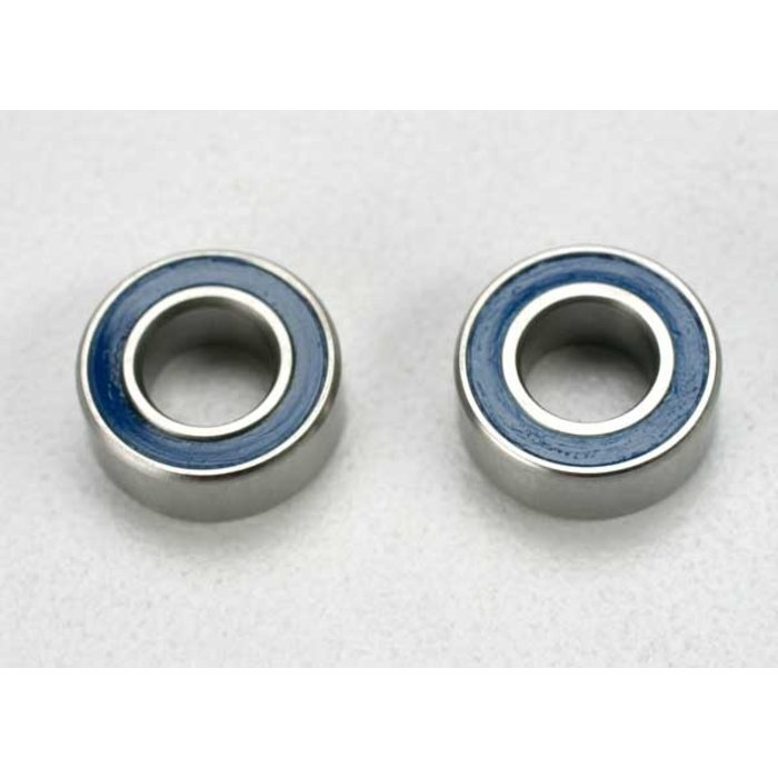 Ball bearings, blue rubber sealed (5x10x4mm) (2)