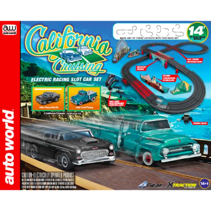 HO 14' California Cruising Slot Car set