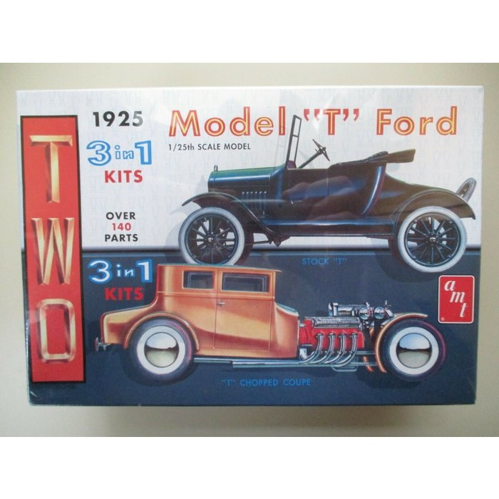 """1:25 '25 Model """"T"""" Ford  3 in 1"""