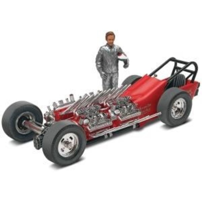 1:25 Tommy Ivo's Showboat Dragsterw/Figure sk3