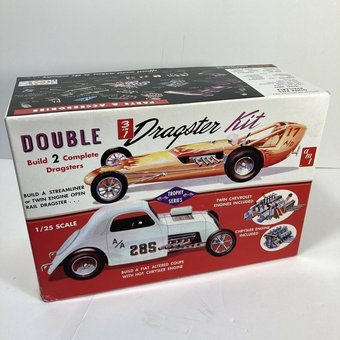 1:25 Double Dragster 3 in 1 Kit