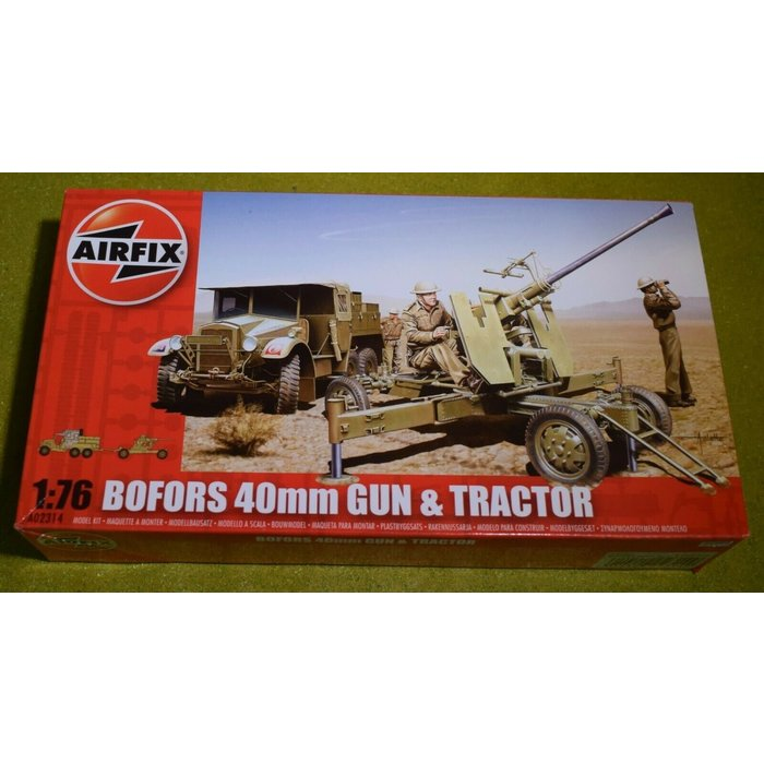 1:76 Bofors Gun & Tractor Kit