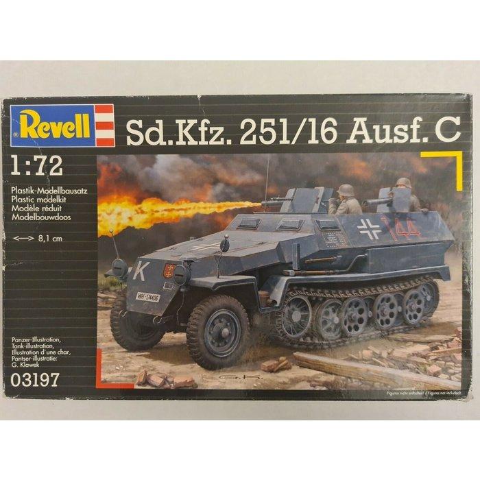 1:72 Sd.Kfz. 251/16 Ausf. C
