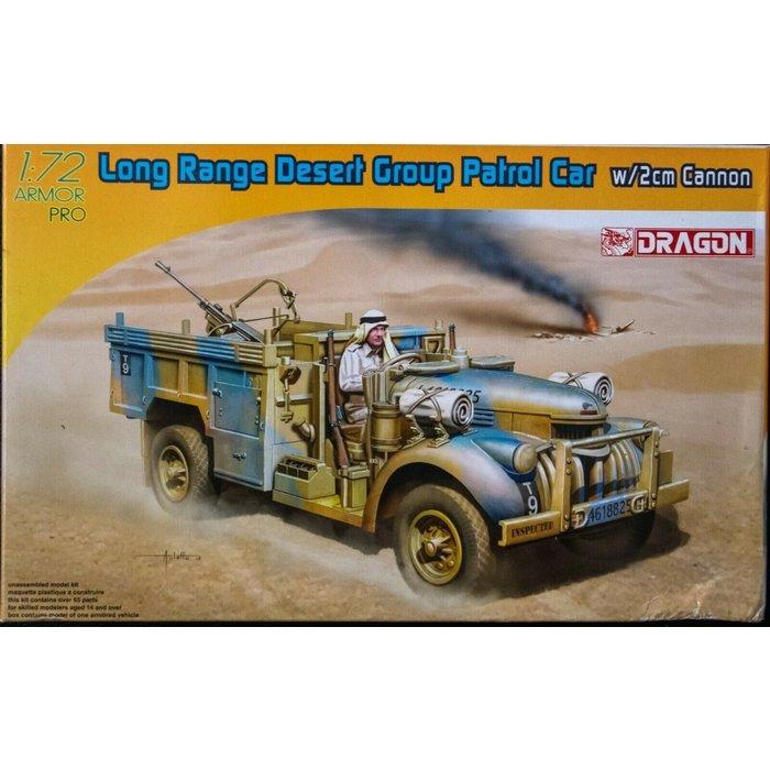 1:72 Long Range Desert Group Patrol Car