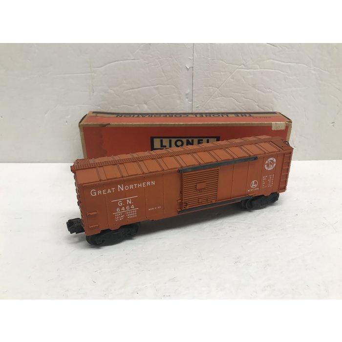 Lionel 6464-25 O 6464 Boxcar GN (Orange) w/ Box