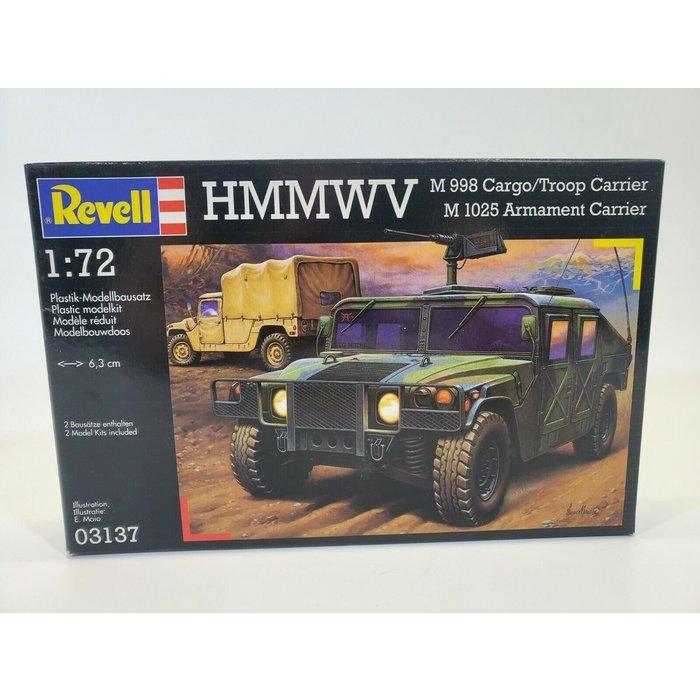 1:72 HMMWV Cargo/Troop & Armament Carrier