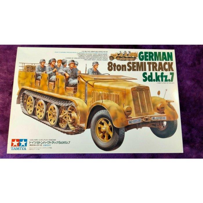 1:35 German 8ton Semitrack