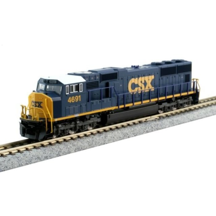 N SD70M Diesel w/Flat Radiator CSX #4691 w/DCC