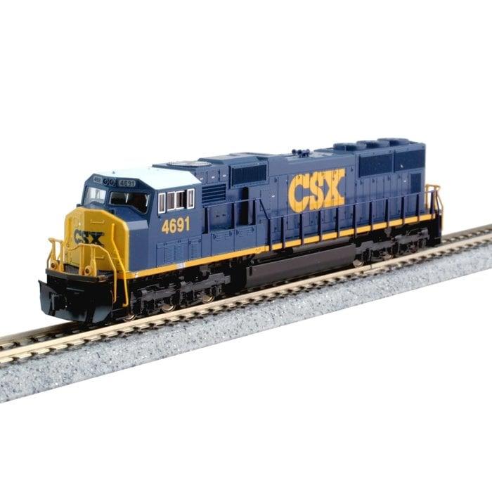 N SD70M Diesel w/Flat Radiator CSX #4695 w/DCC