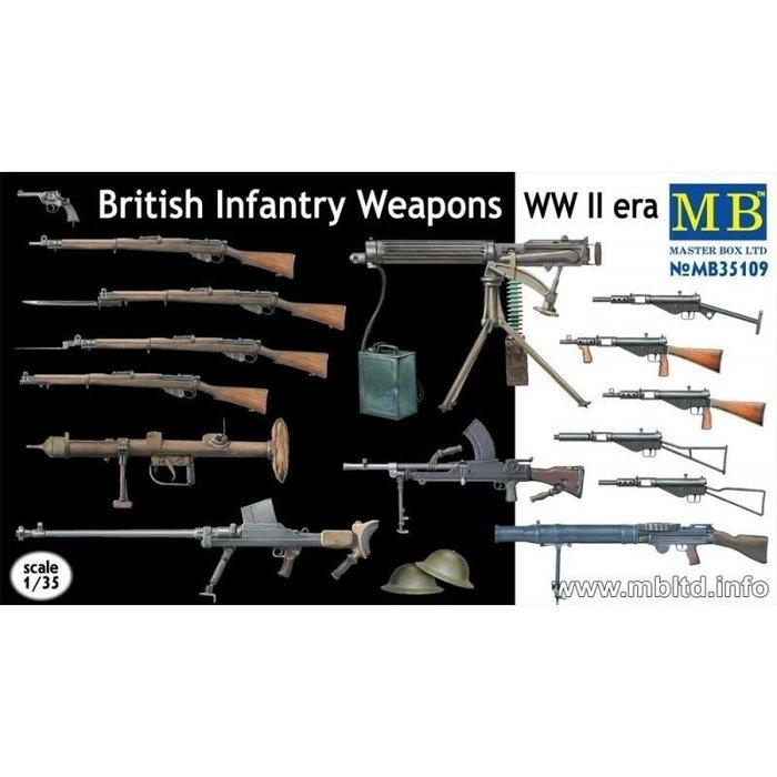 1:35 British Infantry Weapons WWII era