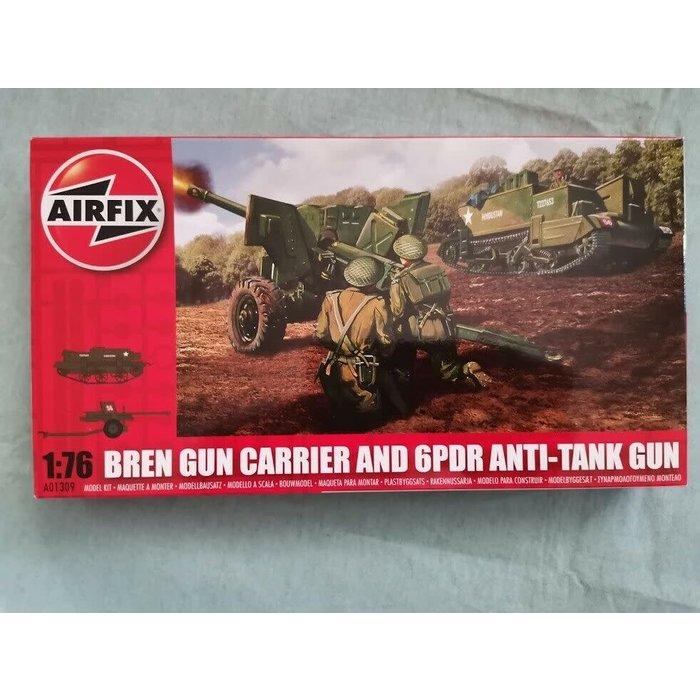 1:76 Bren Gun Carrier & 6 pdr AT Gun Kit