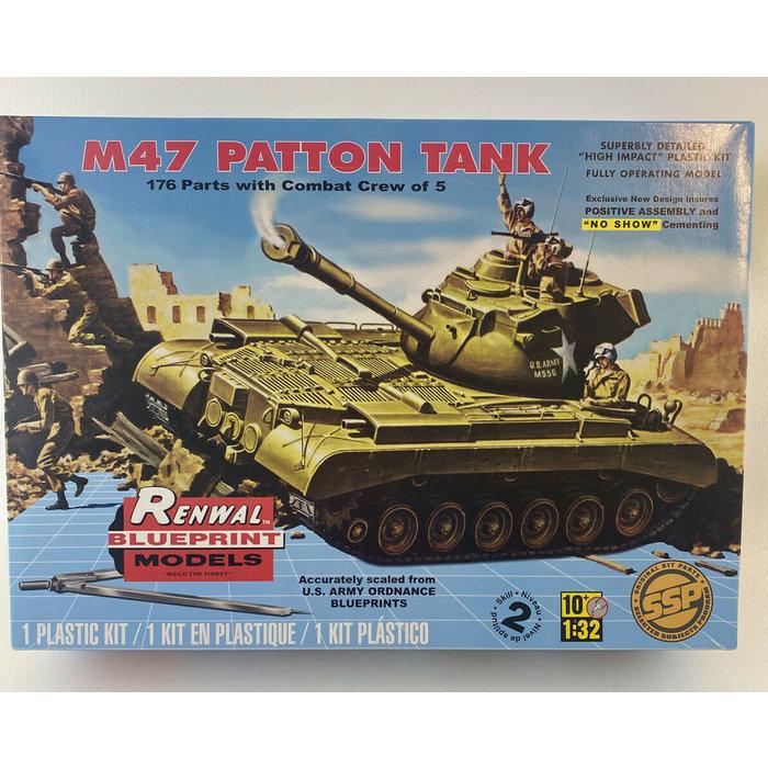 1:32 USA M47 Patton Tank