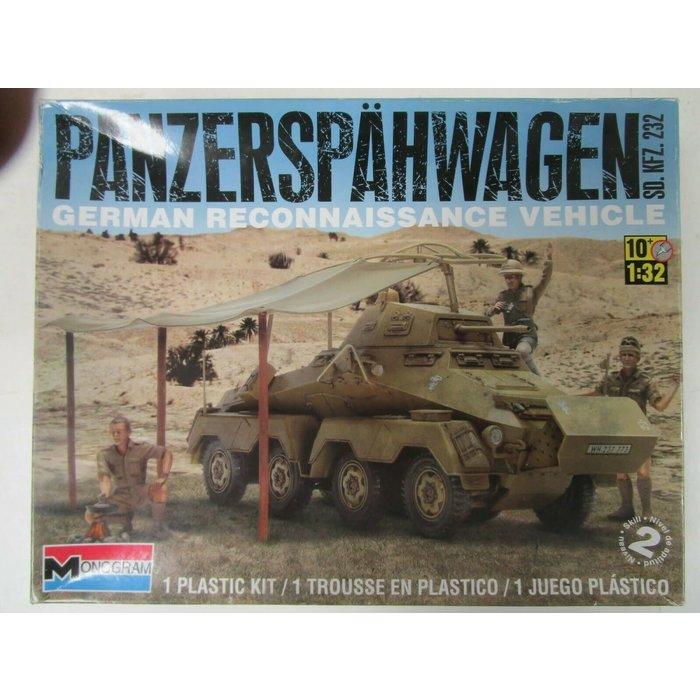 1:32 Panzerspahwagen German Reconnaissance Vehicle