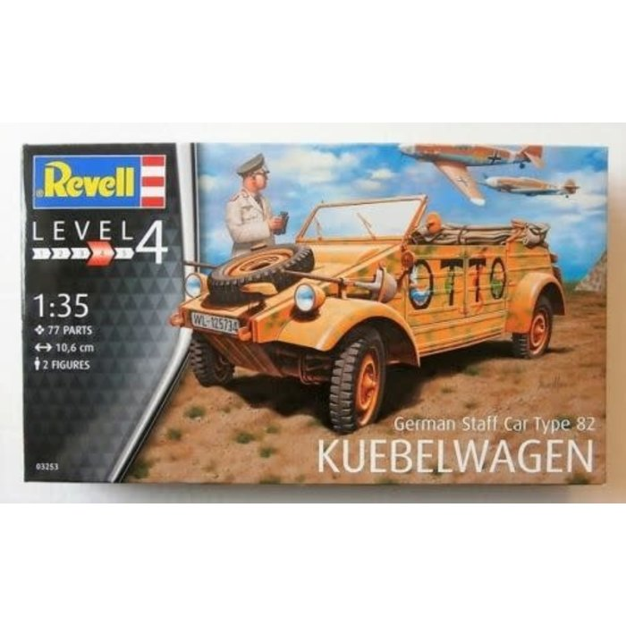 1:35 German Staff Car Type 82 Keubelwagen