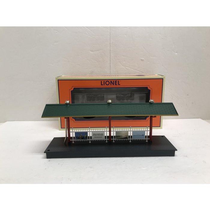 Lionel 6-16855 O Illuminated Station Platform LIRR