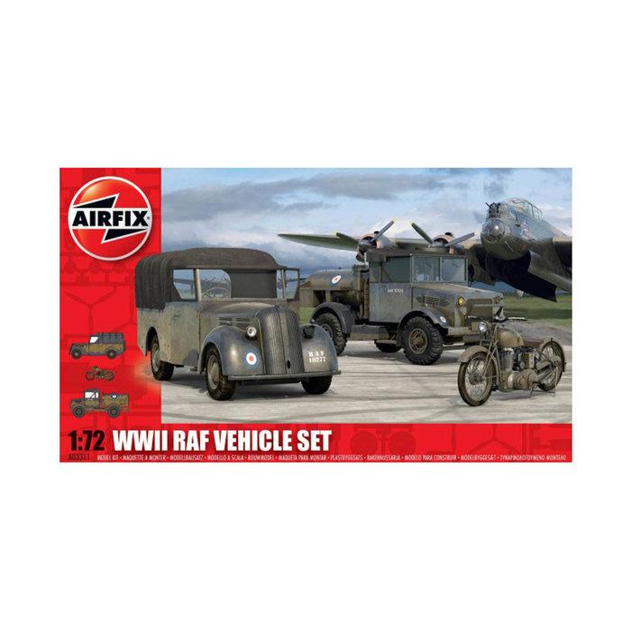 1:72 WWII RAF Vehicles Set