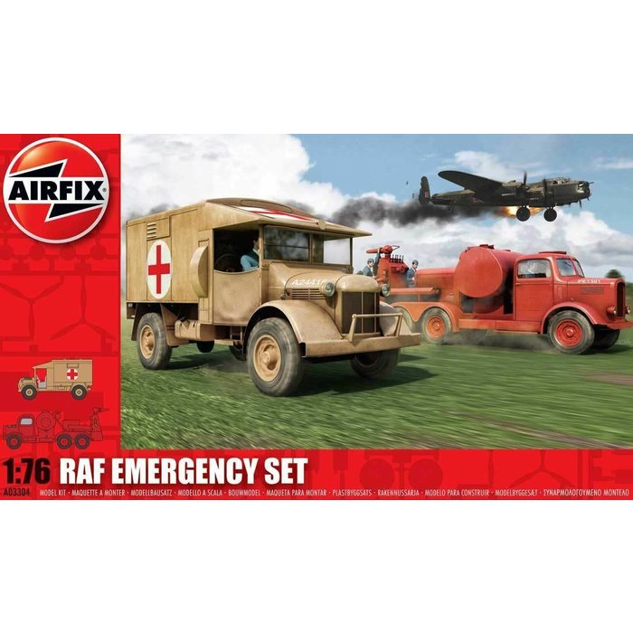 1:76 RAF Emergency Set