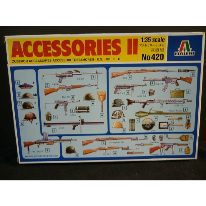 1:35 Accessories II