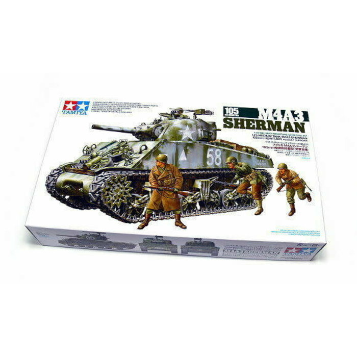 1:35 US M4A3 Sherman 105mm Howitzer