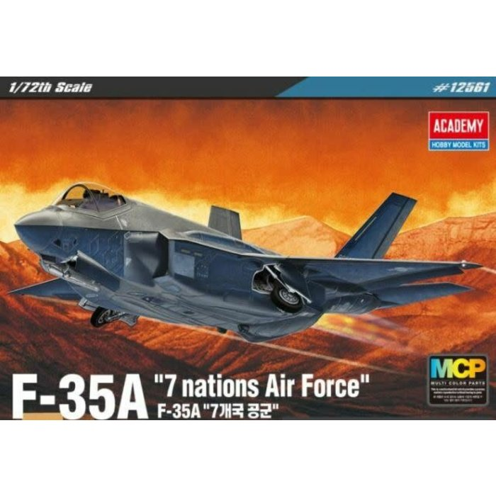 """1:72 F-35A """" Seven Nation  Air Force"""""""