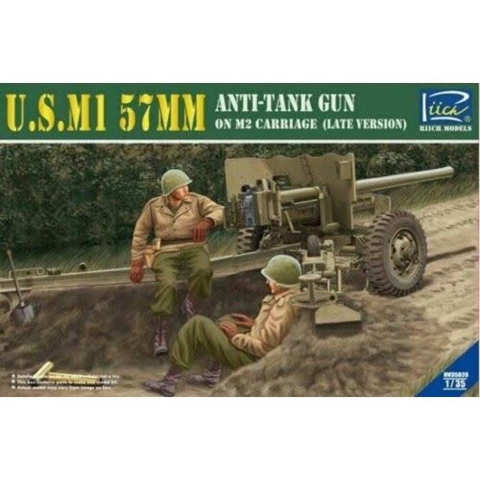1:35 US M1 57mm Anti-Tank Gun