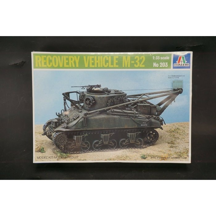1:35 Recovery  Vehicle M-32