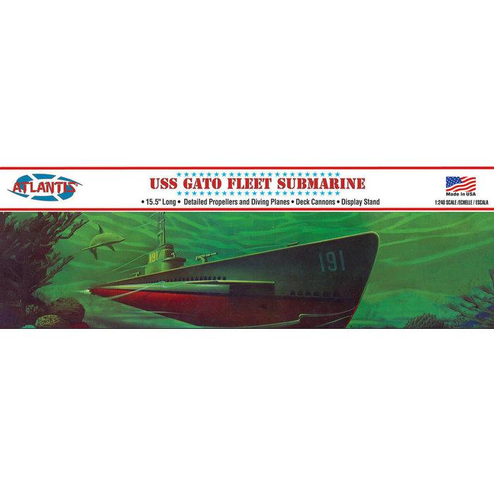 WWII Gato Class Fleet Submarine