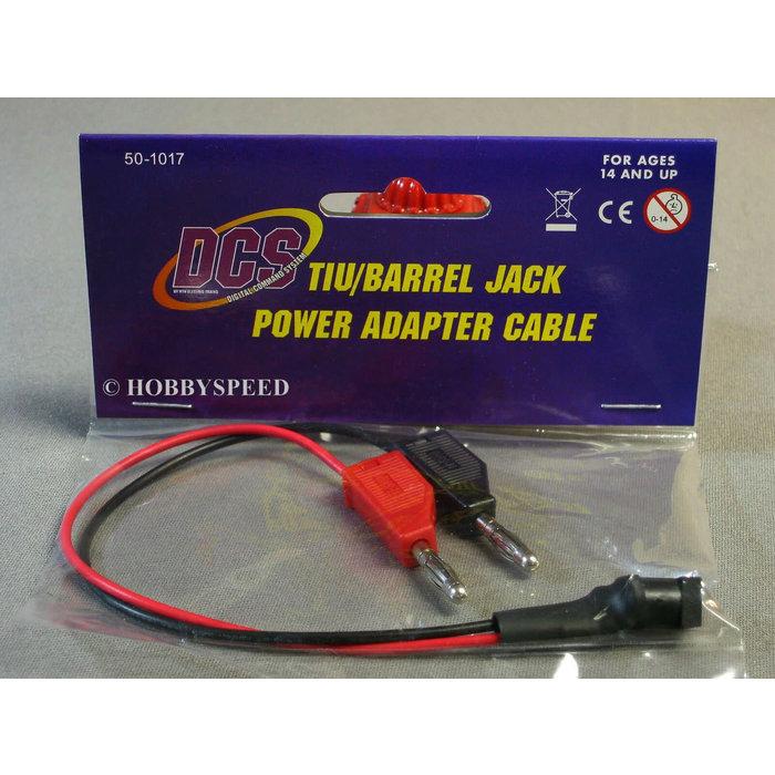 O TIU/Barrel Jack Adapter Cable