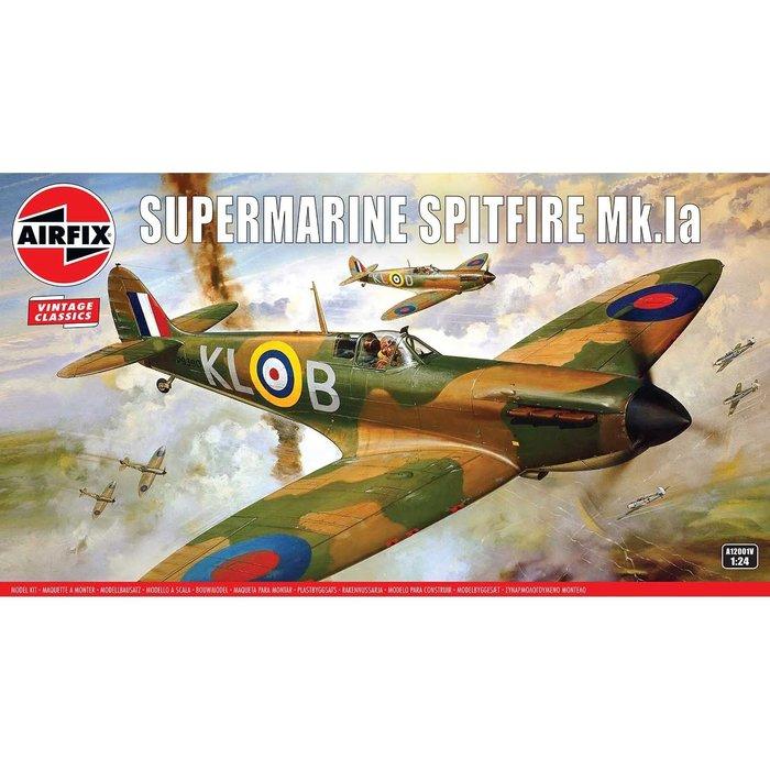 1:24 Supermarine Spitfire Mk1a Kit