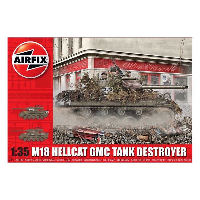 1:35 M-18 Hellcat Kit