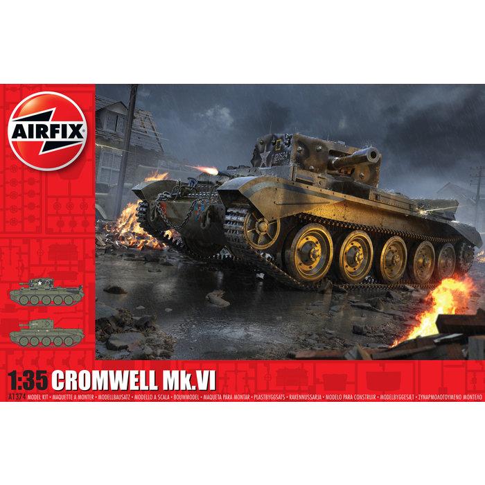 1:35 Cruiser Mk.VIII A27M Cromwell Mk.VI Kit