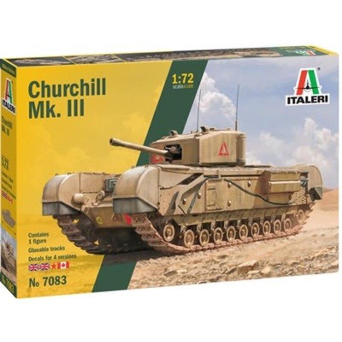 1/72 Chruchill Mk. III  Kit