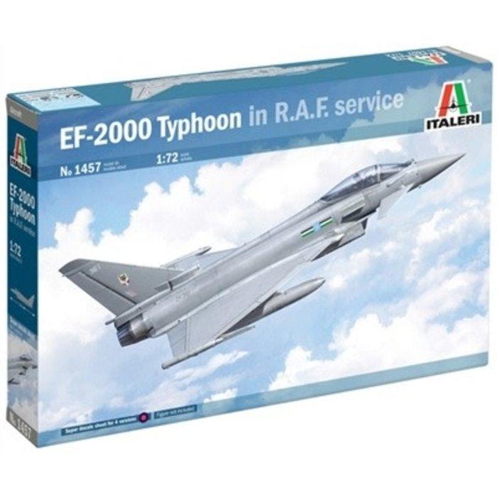 "1:72     Eurofighter Typhoon EF-2000 ""in RAF Service"""