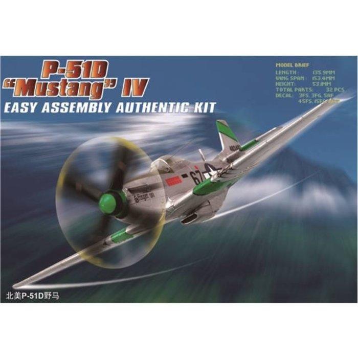 1:72  P-51D Mustang  IV Kit