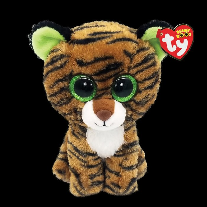Tiggy the Brown Stripped Tiger
