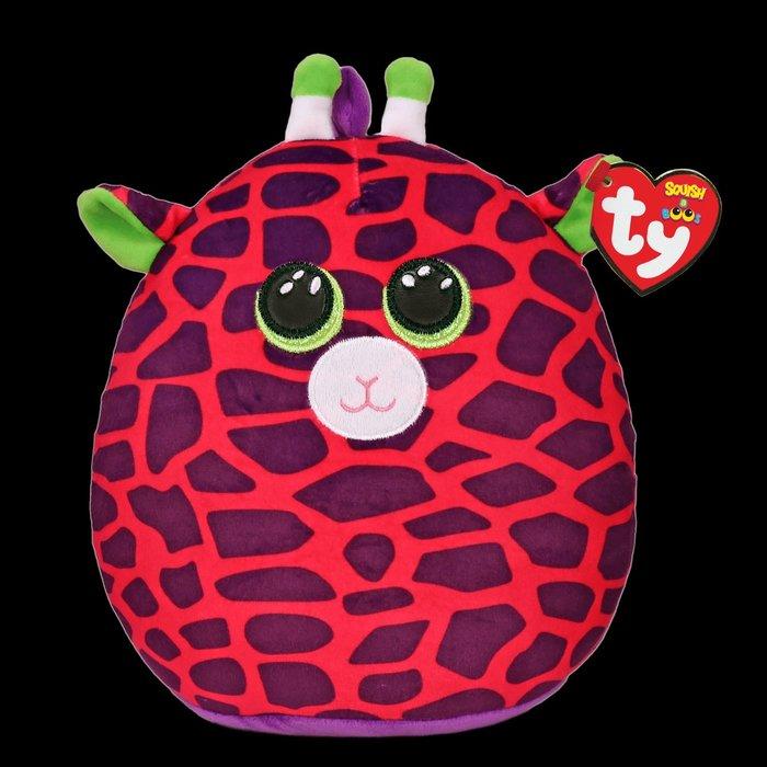 """Squish-A-Boos / Gilbert the Pink Giraffe 10"""""""