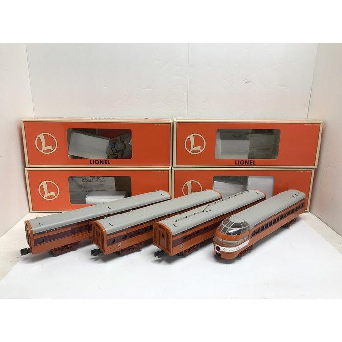 "O 15"" Aluminum MILW Hiawatha 4-car Set"