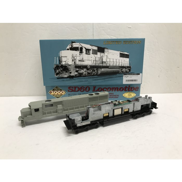 HO SD60 Undec